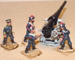 French Sailors Gun Crew (28mm)