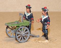 French Sailors Gardner Gun (28mm)