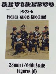 French Sailors Kneeling (28mm)