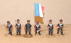 French Sailors Landing Party - Color Party (28mm)