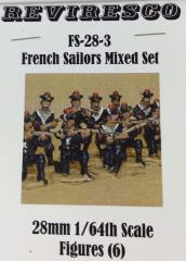 French Sailors Mixed Set (28mm)
