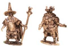 Fat Wizard & Barbarian