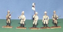 German Marines/Seebataillon Color Party (28mm)