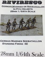 German Marines/Seebataillon Firing (28mm)