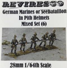 German Marines/Seebataillon Mixed Set (28mm)