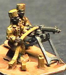 German Schutztruppe Askari MG Team (25mm)