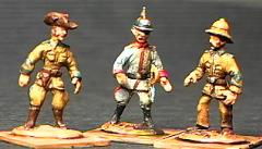German Schutztruppe Askari - Mixed Set (25mm)