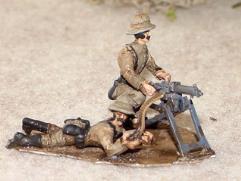 German Schutztruppe MG Team (28mm)