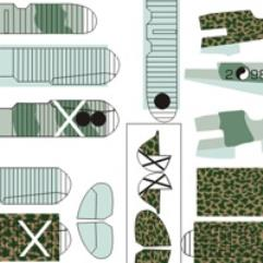 Heinkel HE-51 Decal Set (1:144)