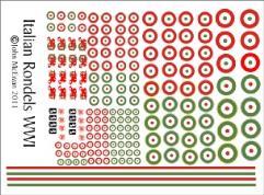 Italian Markings WWI Decal Set (1:144)