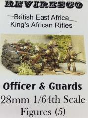 King's African Rifles Officer & Guards (28mm)
