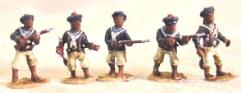Laptots African Sailors in French Navy