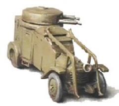Lancia IZ MKII 1939 Italian Armored Car