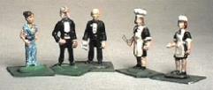Lord & Lady Bentwick & Their Servants