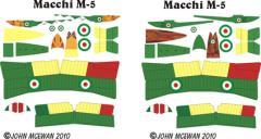 Macchi M-5 Decal Set (1:144)