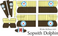 Sopwith Dolphin Decal Set (1:144)