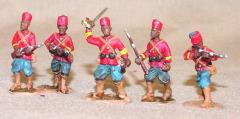 Senegalese Spahis Dismounted - Mixed Set (28mm)