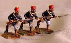 Senegalese Tirailleurs Charging (28mm)