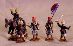 Senegalese Tirailleurs - Command Unit (28mm)