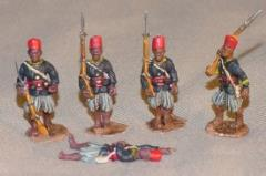 Senegalese Tirailleurs - Guards & Casualty (28mm)
