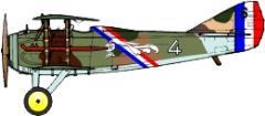 Spad XIII Decal Set 1 - Spa.15 France 1918 (1:144)