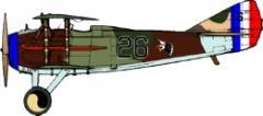 Spad XIII Decal Set 4 - 27th Aero Squadron (1:144)