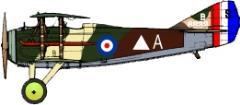 Spad XIII Decal Set 6 - 23rd Squadron RFC (1:144)