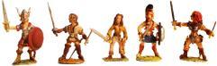 Warrior Maidens Set