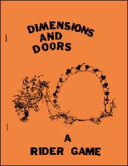 Dimensions and Doors (1st Edition, Orange Cover)