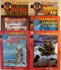 Rolemaster Fantasy Starter Collection - 6 Books!