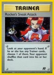 Rocket's Sneak Attack (16) (HR) #16 (1st Edition Holo)