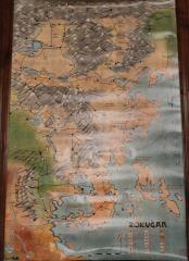 Gen Con Booth Legend of the Five Rings - Rokugan Map