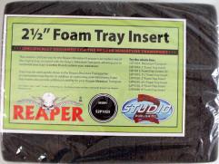 """2.5"""" Foam Tray"""