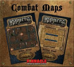 Combat Map - Ancient Tomb and Urban Alleys