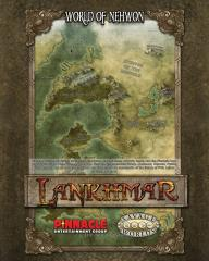 World of Newhon/City of Lankhmar Poster Map