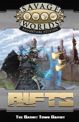 Savage Rifts GM Screen w/Garnet Town Gambit Adventure (Revised Edition)