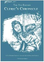 5th Edition Cleric's Chronicle, The