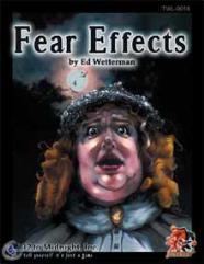 Fear Effects GM Screen