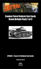 Vehicle Stat Cards - Great Britain Pack 1