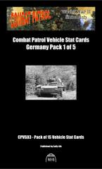 Vehicle Stat Cards - German Pack 1