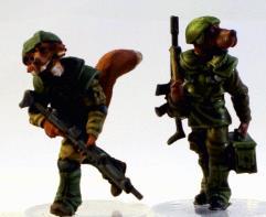 EDF Heavy Infantry LMG Team