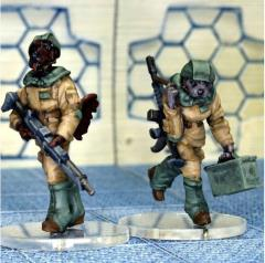 Light Infantry LMG Team (Gunner & Loader)