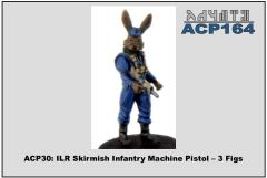 Skirmish Infantry w/Machine Pistols