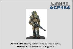 Heavy Infantry Reinforcements w/Helmet and Respirator