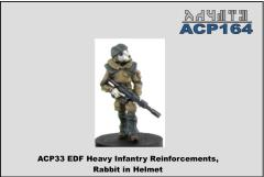 Heavy Infantry Reinforcements - Rabbit in Helmet