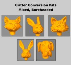 Critter Conversion Kit - Mixed, Bareheaded