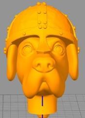 Critter Conversion Kit - Dog, Conical Helmet