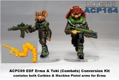 Erma & Toki Combat Uniform