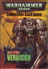 Invasion Verdicon - Space Marines, Dark Angels Deck