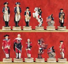American Revolution Chess Set